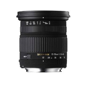 Sigma 17-70mm f/2.8-4.5 DC IF Macro Lens for Canon Digital SLR Cameras