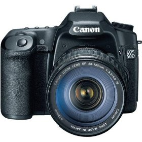 Canon EOS 50D 15.1MP Digital SLR Camera with EF 28-135mm f/3.5-5.6 IS USM Standard Zoom Lens + 8GB Deluxe Accessory Kit