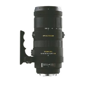 Sigma 120-400mm f/4.5-5.6 AF APO DG OS HSM Telephoto Zoom Lens for Nikon Digital SLR Cameras