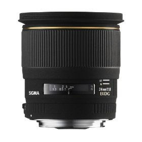 Sigma 24mm f/1.8 EX DG Aspherical Macro Large Aperture Wide Angle Lens for Nikon SLR Cameras