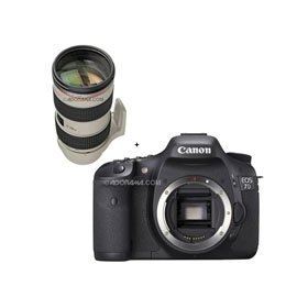 Canon EOS-7D Digital SLR Camera with EF 70-200mm f/2.8L IS II USM