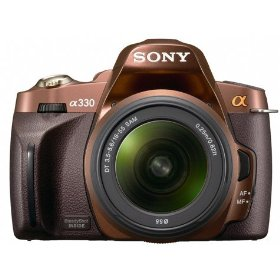 Sony Alpha A330 Digital SLR ( Brown)