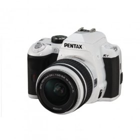 Pentax K-r - Digital camera - SLR - 12.4 Mpix - PENTAX-DA L 18-55mm AL lens - optical zoom: 3 x - supported memory: SD, SDHC - white