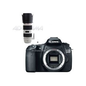 Canon EOS 60D Digital SLR Camera Body, with EF 70-200mm f/2.8L IS II USM AutoFocus Telephoto Zoom Lens