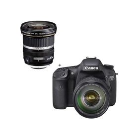 Canon EOS-7D Digital SLR Camera / Lens Kit with EF 28-135mm f/3.5-5.6 IS USM Standard Zoom Lens and Canon EF-S 10mm - 22mm f/3.5-4.5 USM Autofocus Zoom Lens