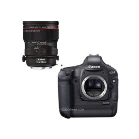 Canon EOS-1D MARK-IV Digital SLR Camera with TS-E 24mm f/3.5L II Tilt-Shift Lens