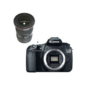 Canon EOS 60D Digital SLR Camera Body, with EF 16 - 35mm f/2.8L II USM Ultra Wide Angle Zoom Lens