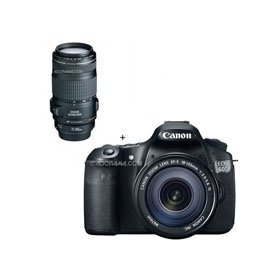 Canon EOS 60D Digital SLR Camera / Lens Kit. With EF-S 18-135mm f/3.5-5.6 IS Lens & EF 70-300mm f/4-5.6 IS USM Autofocus Telephoto Zoom Lens