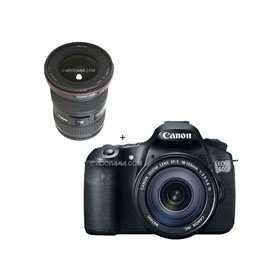 Canon EOS 60D Digital SLR Camera / Lens Kit. With EF 18-135mm f/3.5-5.6 IS USM Lens & EF 16 - 35mm f/2.8L II USM Ultra Wide Angle Zoom Lens