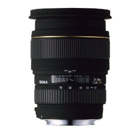 Sigma 24-70mm f/2.8 EX DG Macro Aspherical Large Aperture Zoom Lens for Pentax and Samsung SLR Cameras (Includes 3 year US Manufacturer Warranty)