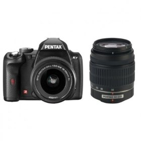 Pentax K-r - Digital camera - SLR - 12.4 Mpix - PENTAX-DA 18-55mm and 50-200mm lenses - optical zoom: 3 x - supported memory: SD, SDHC - black