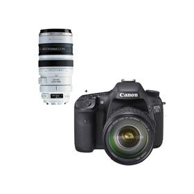Canon EOS-7D Digital SLR Camera / Lens Kit with EF 28-135mm f/3.5-5.6 IS USM Standard Zoom Lens and EF 100-400mm f/4.5-5.6L IS USM Lens