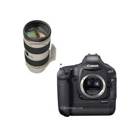 Canon EOS-1D MARK-IV Digital SLR Camera with EF 70-200mm f/2.8L IS II USM