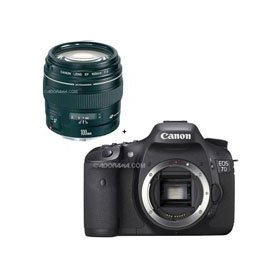 Canon EOS-7D Digital SLR Camera with EF 100mm f/2 USM