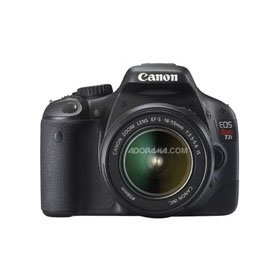 Canon EOS Rebel T2i EF-S Digital SLR Camera with 18-55MM Lens, Black - Refurbished