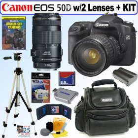 Canon EOS 50D 15.1MP Digital SLR Camera with 28-135mm f/3.5-5.6