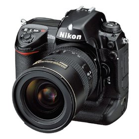 Nikon D2HS - Digital camera - SLR - 4.1 Mpix - body only - supported memory: CF, Microdrive