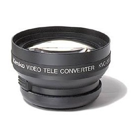 Kenko 2X Tele Lens for 46/49/52mm Camcorders & Digital Cameras #KVC-20