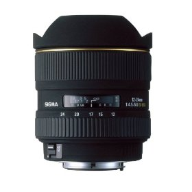 Sigma 12-24mm f/4.5-5.6 EX DG IF HSM Aspherical Ultra Wide Angle Zoom Lens for Sigma SLR Cameras