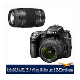 Sony Alpha DSLR-A580L Digital SLR, 16.2MP APS-C , 3