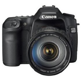 Canon EOS 40D 10.1MP Digital SLR Camera with EF 28-135mm f/3.5-5.6 IS USM Standard Zoom Lens
