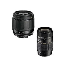 Tamron Twin Zoom Kit 3: AF 28-80mm f/3.5-5.6 Aspherical Lens and AF 70-300mm f/4.0-5.6 DI Lens with Built In Motor for Nikon DSLR