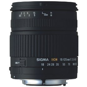 Sigma 18-125mm f/3.5-5.6 DC IF Aspherical Zoom Lens for Olympus and Panasonic Digital SLR Cameras