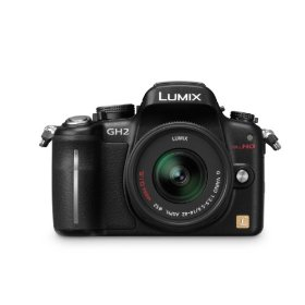 Panasonic Lumix DMC-GH2 16.05 MP Live MOS Interchangeable Lens Camera with 3-inch Free-Angle Touch Screen LCD and 14-42mm Hybrid Lens (Black)