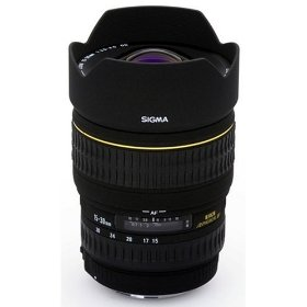 Sigma 15-30mm f/3.5-4.5 EX DG IF Aspherical Ultra Wide Angle Zoom Lens for Canon SLR Cameras