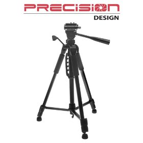 Precision Design PD-57TR 57-Inch Photo/Video Tripod with Carrying Case