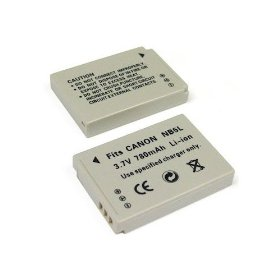 Brand New Canon Digital Camera Lithium-Ion Replacement NB-5L Battery