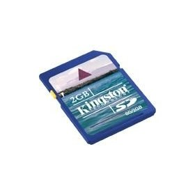 Kingston 2 GB SD Flash Memory Card 2-Pack SD/2GB-2P