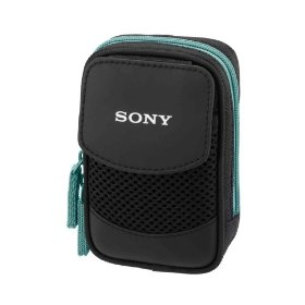 Sony LCS-CSQ/L Soft Carrying Case Designed for T, W, and N series Cyber-shot DSC (Blue)