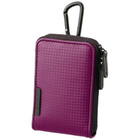 Sony Sporty Carrying Case with Carabineer for Webbie MHS-PM1 & Bloggie MHS-PM5 (Violet)