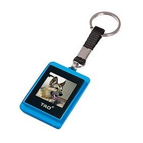 Tao 2009 80009-blu Digital Photo Key Chain (Blue)
