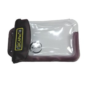 DicaPac WP710 165x105mm Small Inner Zoom Alfa Waterproof Digital Camera Case without Lens (Clear)