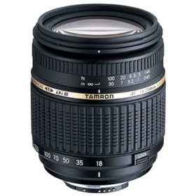 Tamron AF 18-250mm F/3.5-6.3 Di-II LD Aspherical (IF) Macro Zoom Lens with Built In Motor for Nikon DSLR