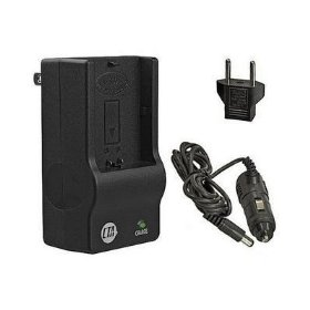 Nikon D40, D40X, D60 - Replacement Battery Charger (Incl. Car and European Plug Adapters)