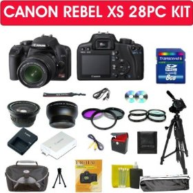 Canon EOS Rebel XS (1000d) Digital Slr Camera Kit