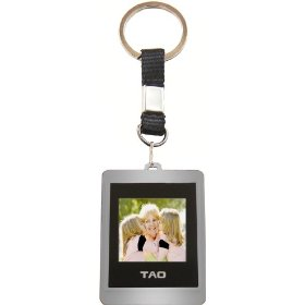 Tao 2009 80013-gra Digital Photo Key Chain (Gray)