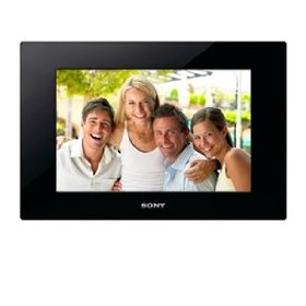 Sony DPF-D1010 10-Inch WVGA LCD (16:10) Digital Photo Frame (Black)