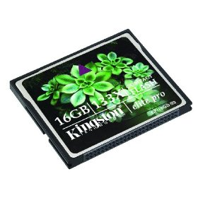 Kingston Elite Pro 16 GB 133x CompactFlash Memory Card CF/16GB-S2