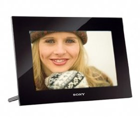 Sony DPF-VR100 10.2-Inch WSVGA LCD (16:10) Digital Photo Frame (Black)