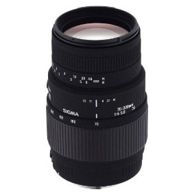 Sigma 70-300mm f/4-5.6 DG Macro Telephoto Zoom Lens for Pentax and Samsung SLR Cameras