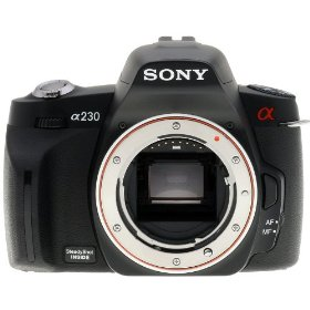 Sony Alpha A230 10.2 MP Digital SLR Camera with Super SteadyShot INSIDE Image Stabilization (Body)