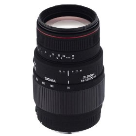 Sigma 70-300mm f/4-5.6 DG APO Macro Telephoto Zoom Lens for Minolta and Sony SLR Cameras