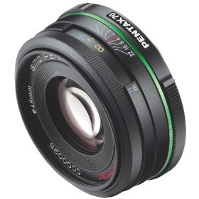 Pentax 70mm f/2.4 DA Limited Lens for Pentax and Samsung Digital SLR Cameras