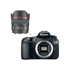 Canon EOS 60D Digital SLR Camera Body, with EF 14mm f/2.8L II USM Wide Angle Lens
