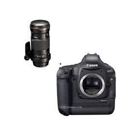 Canon EOS-1D MARK-IV Digital SLR Camera with EF 180mm f/3.5L Macro USM AutoFocus Telephoto Lens