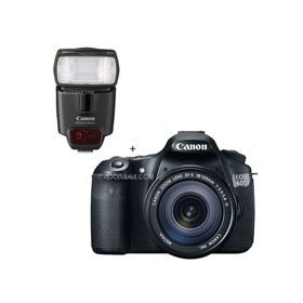 Canon EOS 60D Digital SLR Camera / Lens Kit. With EF 18-135mm f/3.5-5.6 IS USM Lens & Speedlite 430EX II Flash